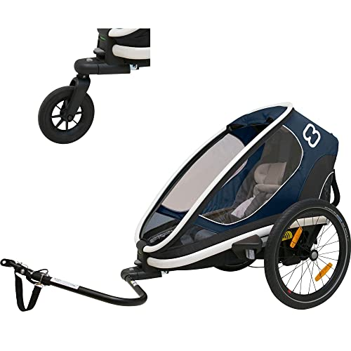 Hamax Outback Reclining Multi-Sport Child Bike Trailer + Stroller