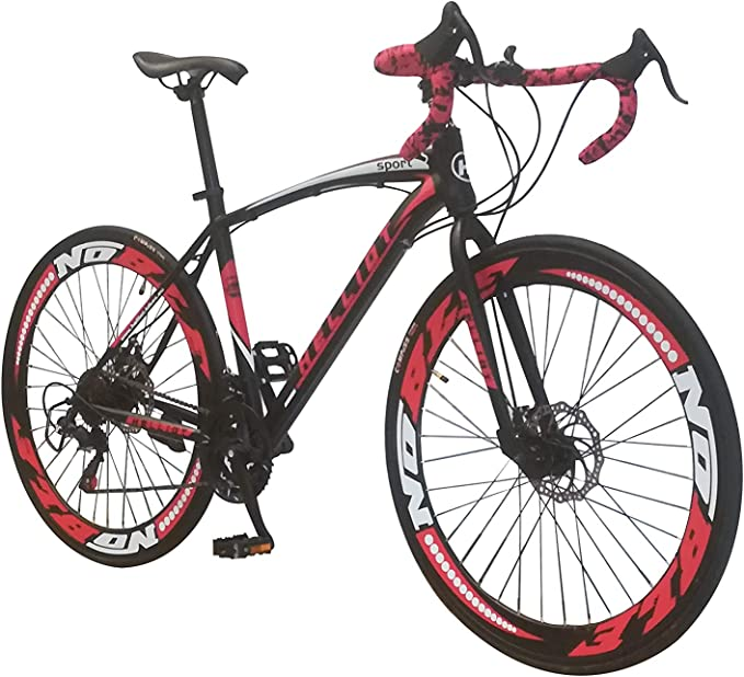 Helliot Bikes Helliot Sport 01, Adultos Unisex, Negro, M-L: Amazon.es: Deportes y aire libre