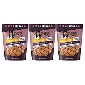 "Blends by Orly ""Gluten Free"" Challah Artisanal Bread Mix 20.5oz - 25 Oz (Raisin Challah, 3)"