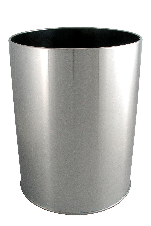LDR 164 6400BN Ashton Waste Basket, Brushed Nickel   Waste Bins   Amazon.com