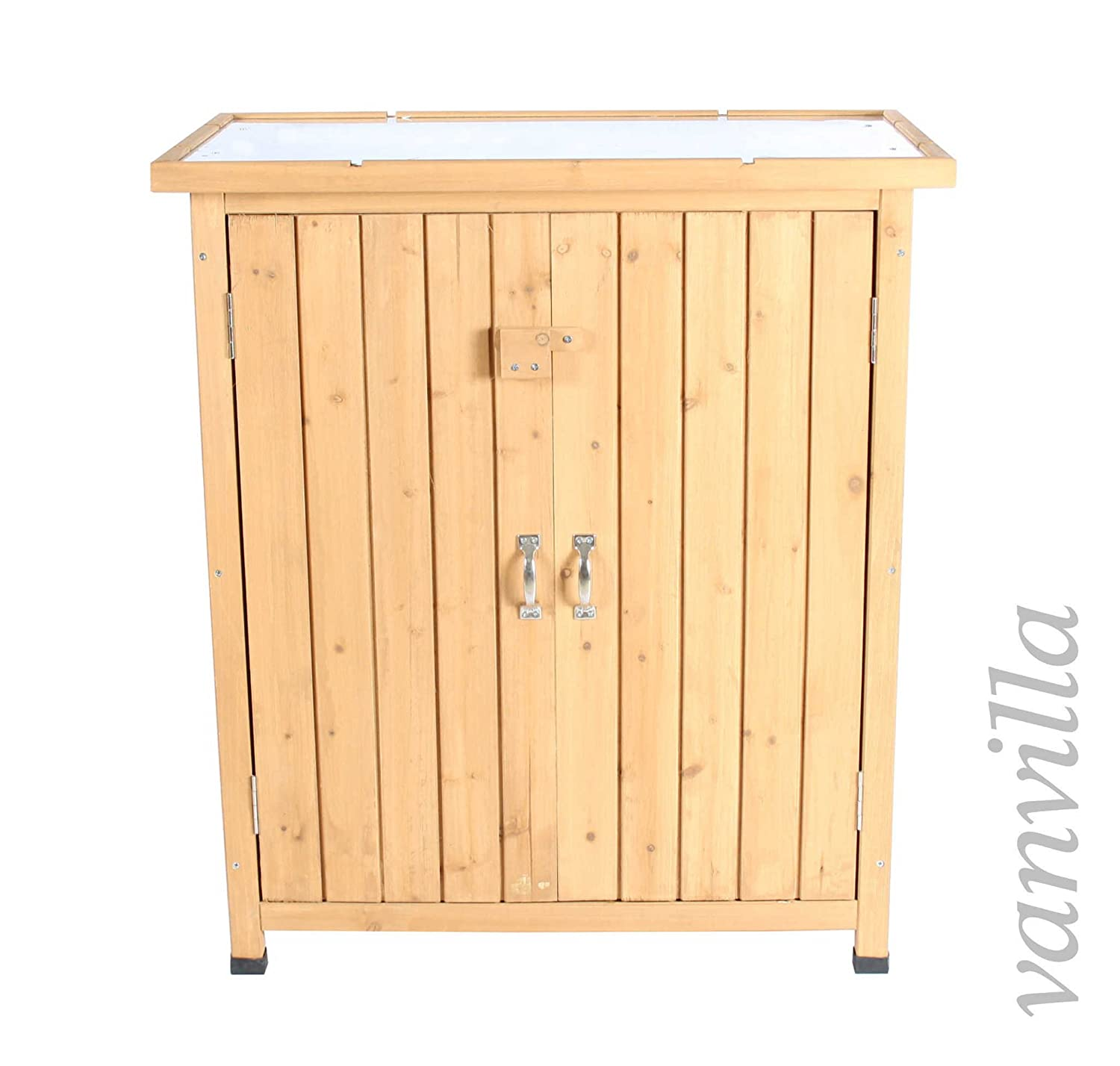 vanvilla pflanztisch gartentisch blumentisch g rtnertisch pflanzregal holz verzinkte. Black Bedroom Furniture Sets. Home Design Ideas