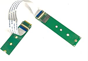 NGFF M.2 PCIe M-Key Extension Card with 20 cm Cable