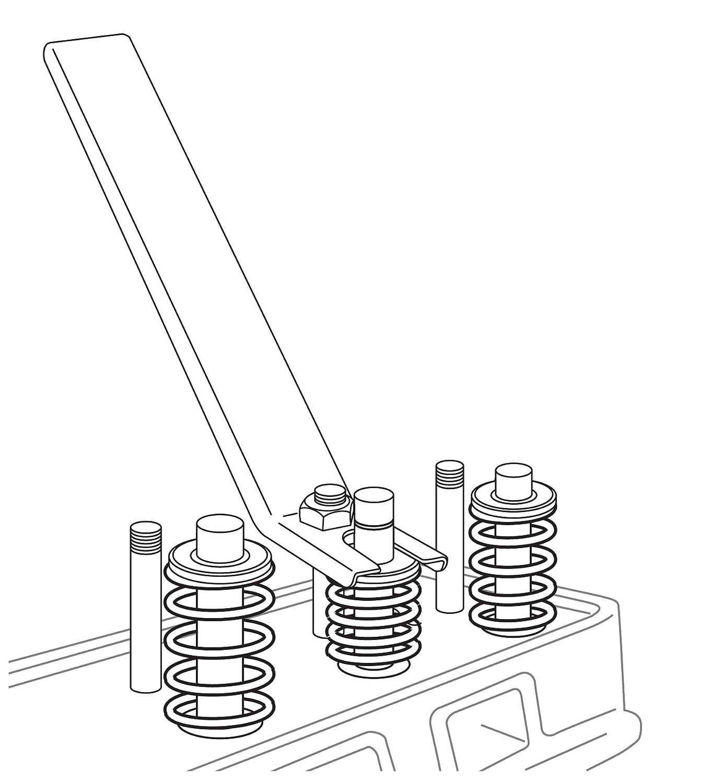 Performance Tool W84002 Valve Spring Compressor on
