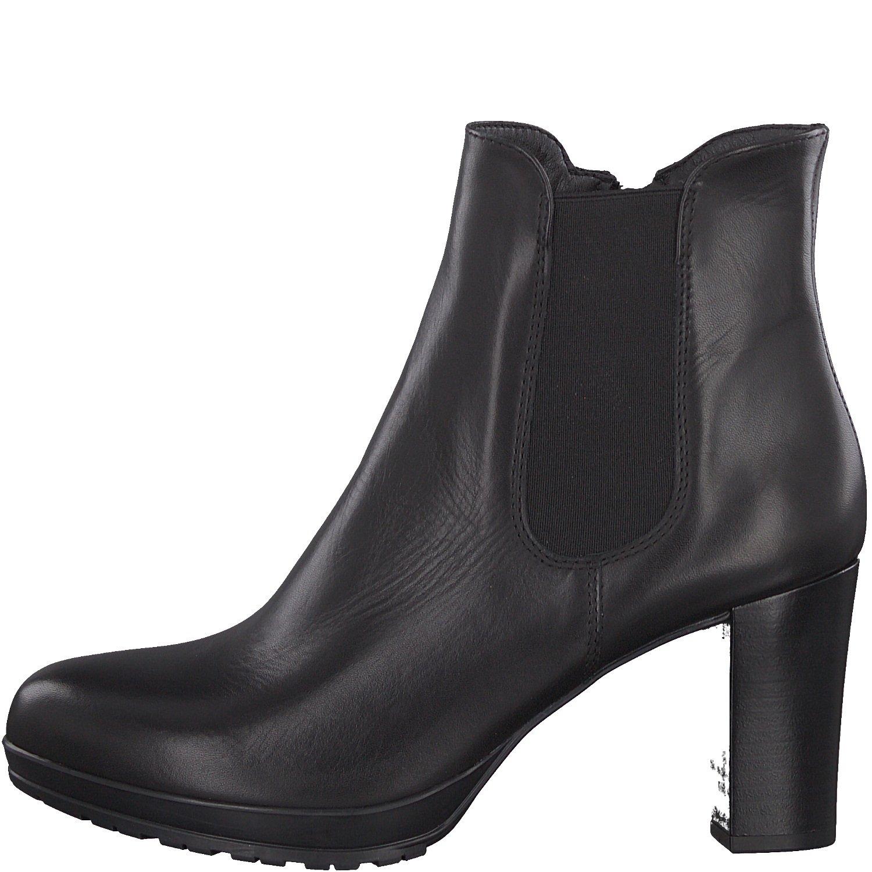 Tamaris Damen Stiefelette 25090 21,Frauen Stiefel,Boot,Halbstiefel,Damenstiefelette,Bootie,hoch,High Heel,Party,Trichterabsatz 8cm