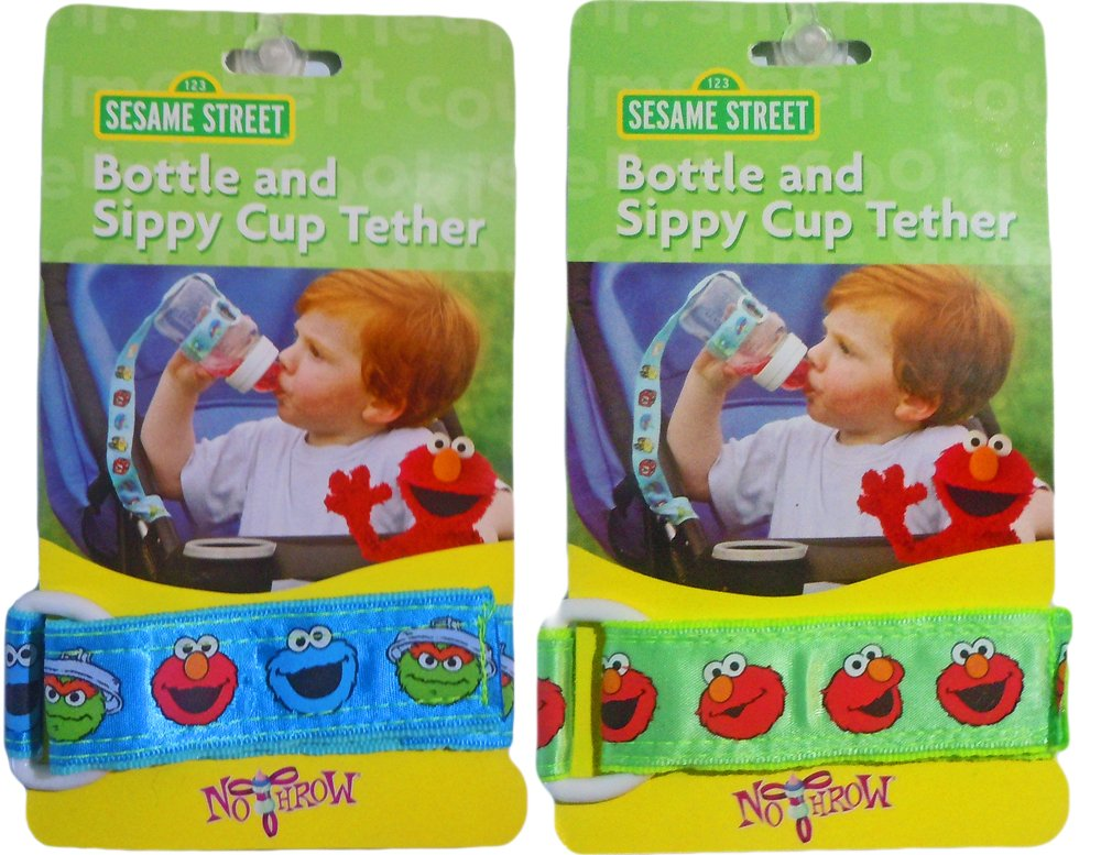 Sesame Street Bottle & Sippy Cup Tether (Boys)