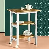 Zinus Farmhouse Kitchen Cart