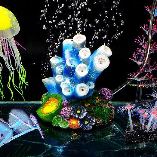 SLOME - Adorno de Coral para Acuario, diseño de Conchas de Coral con ...