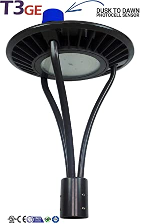 Fantastic T3 Green Energy Led Area Light Led Post Top Pole Lights 60W 100W Wiring 101 Hateforg