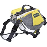 Wellver Dog Backpacks Saddle Bag Outdoor Dog Packs For Hiking Walking Camping