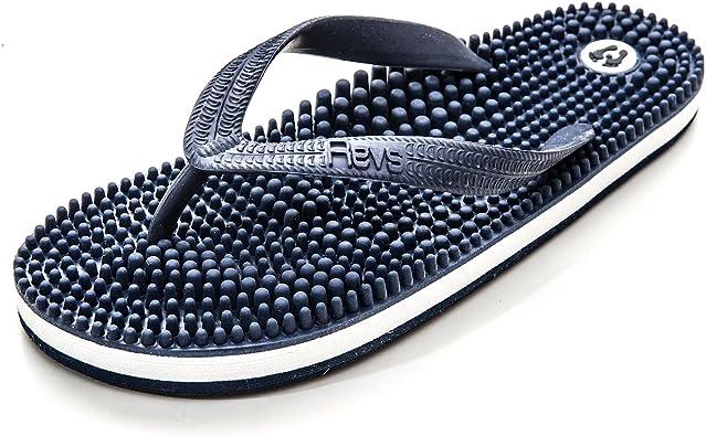 Revs, Chanclas de Reflexologia y Masaje de acupresion - Unisex: Amazon.es: Zapatos y complementos