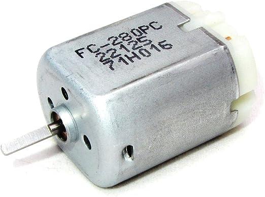 Mabuchi FC-280 Motor with Collar Automotive Door Lock Repair Motor
