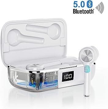 Auriculares Bluetooth 5.0, Orit Auriculares inalámbricos Mini ...