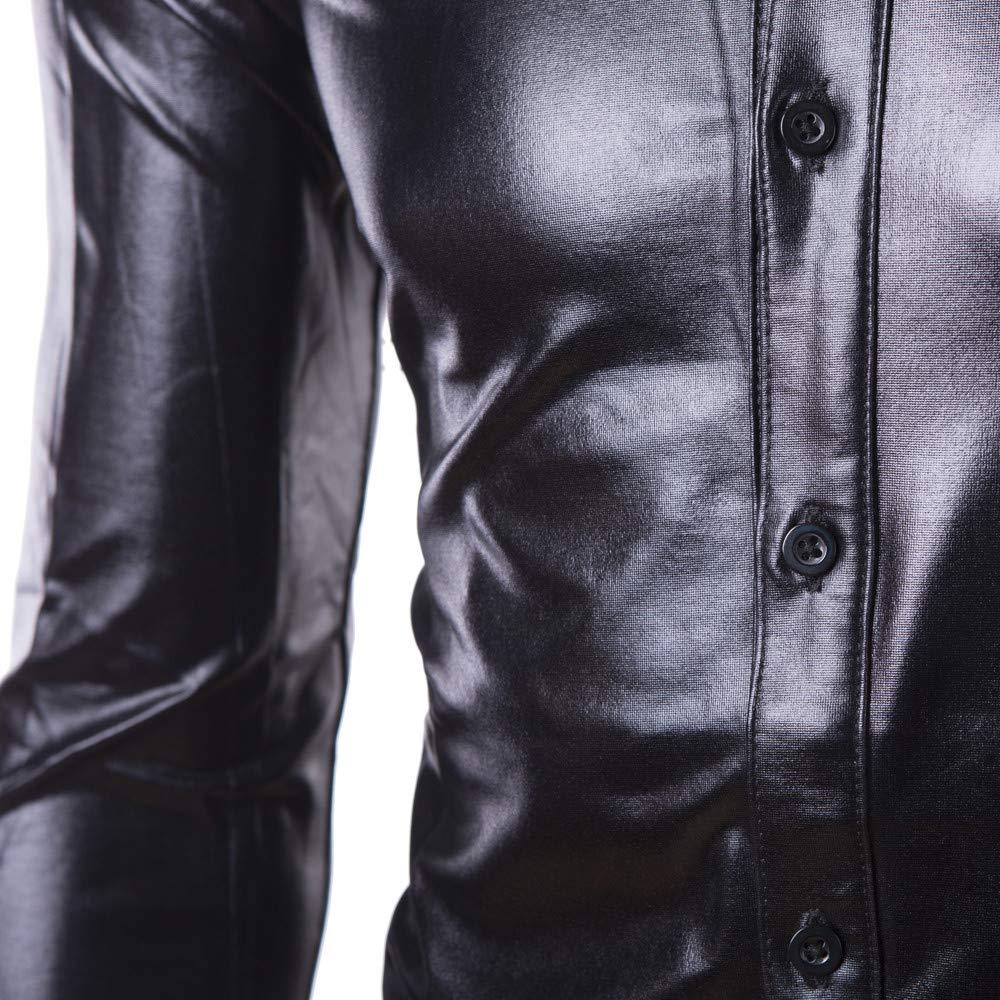 Zoilmxmen Mens Shirts,Mens Casual Button Down Shirts Long Sleeve Regular Fit