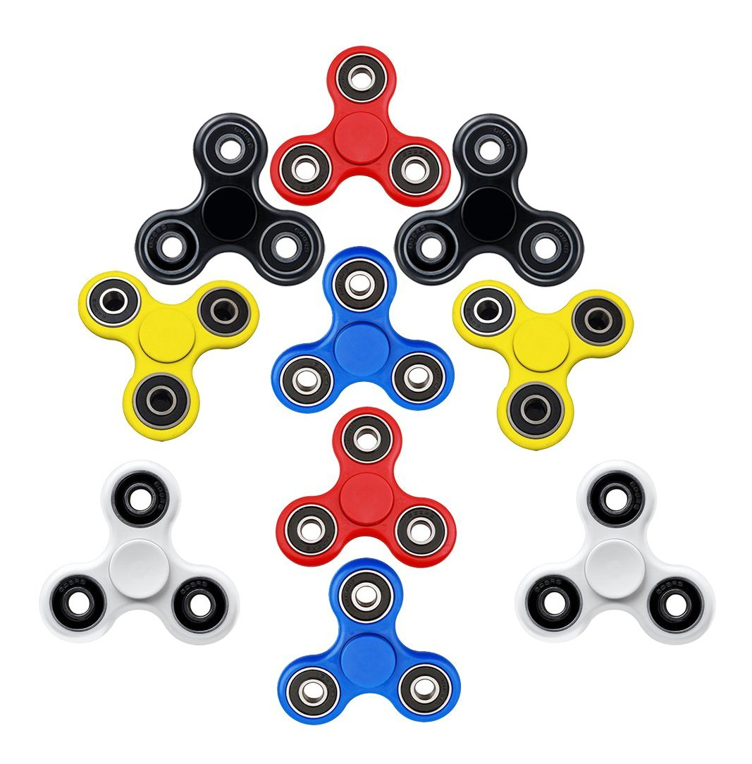 Lo Lord EDC Fidget Spinner (10 Pack) Hand Spinner by Lo Lord