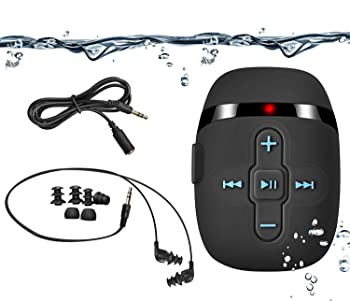 SEWOBYE Underwater Headphones Waterproof MP3 Player