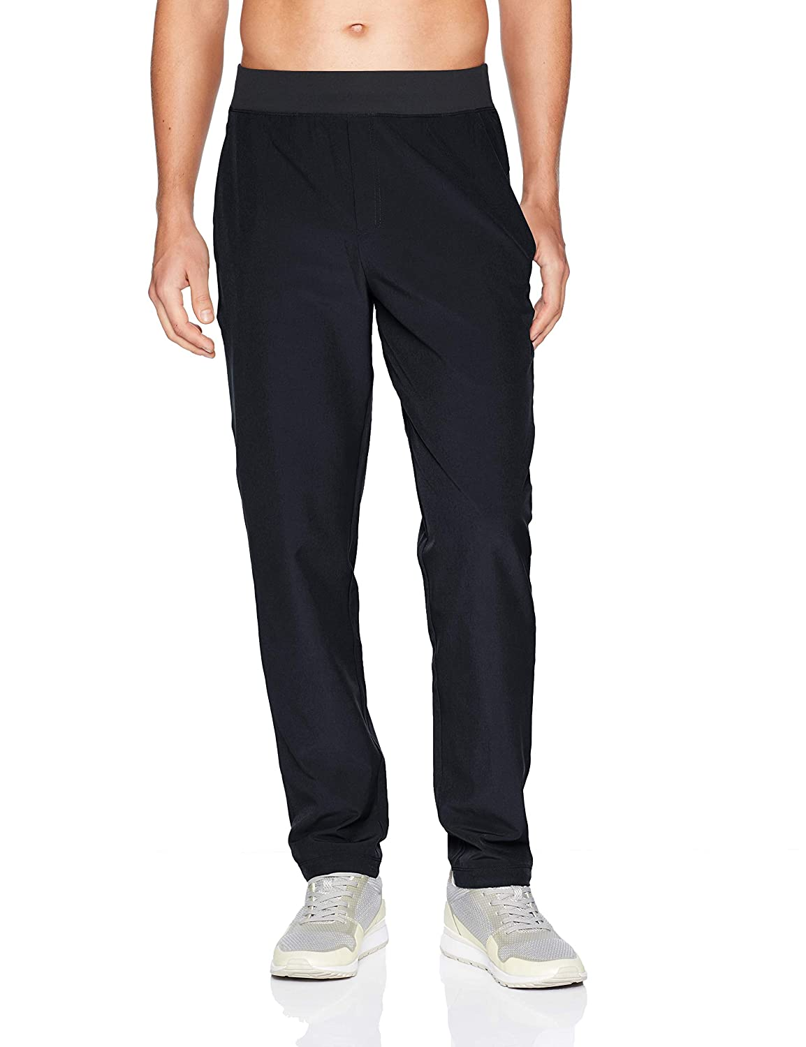 Peak Velocity Men's All Day Comfort Stretch Woven Athletic-Fit Pant MA28B07