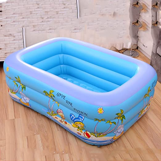 Piscina Familiar Inflable Rectangular Piscina Infantil De ...