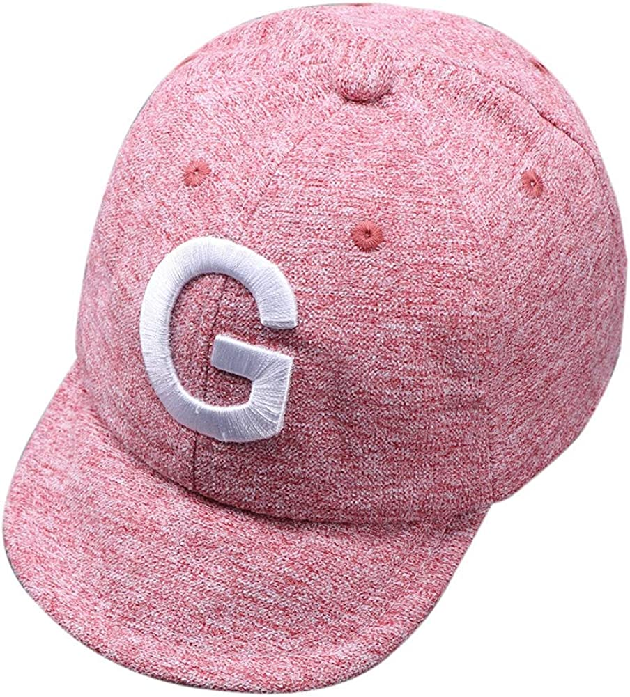 Shiningbaby Baby Boy Girls Cotton Adjustable Baseball Cap Sun Hats