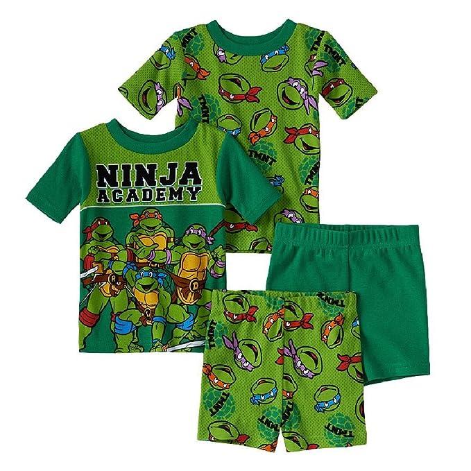 Amazon.com: Teenage Mutant Ninja Turtles Verano Pajama ...