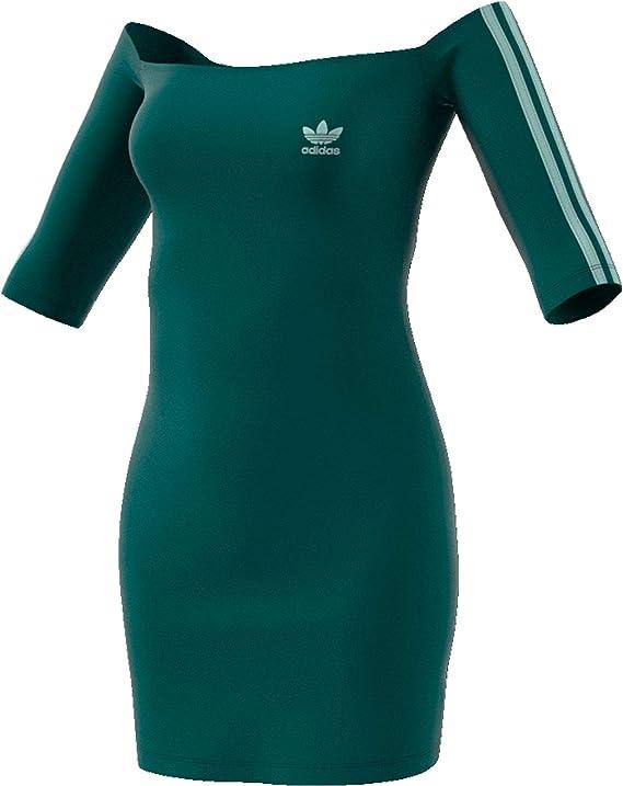 Robe Femme Adidas Off The Shoulder Amazon Co Uk Clothing