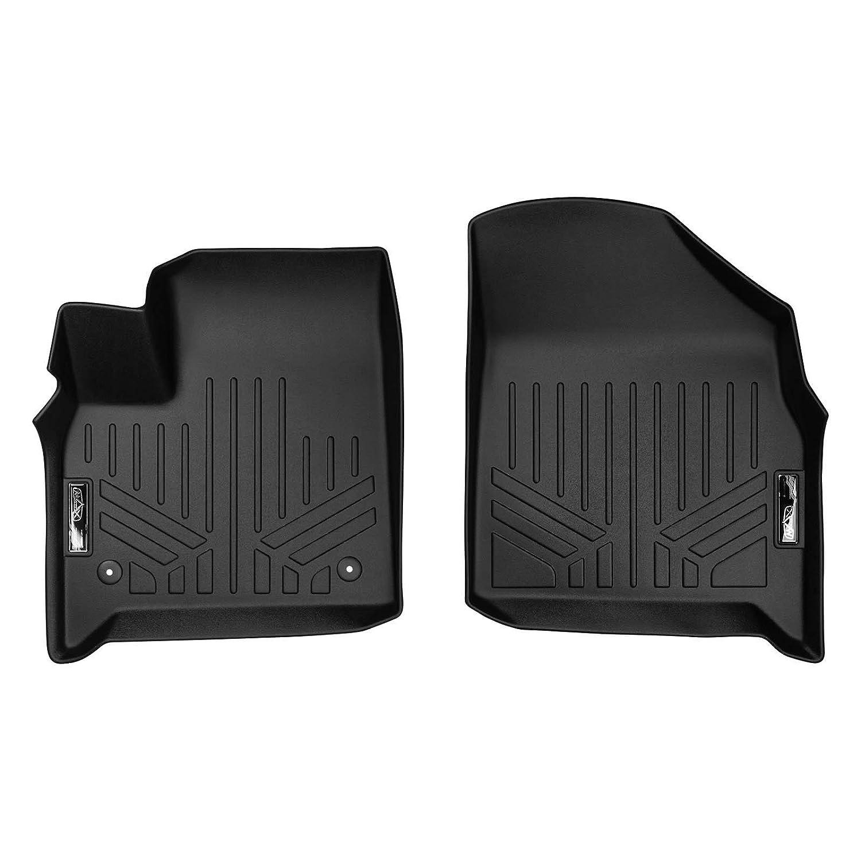 All Models MAXLINER A0343 SMARTLINER Floor Mats 1st Row Liner Set Black for 2018-2019 Chevrolet Traverse