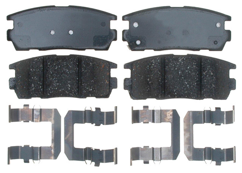 CCIYU Front and Rear Kevlar Carbon Fiber Brake Pads Motorcycle Motorbike Replacement Brake Pads Fit 1994-1996 1999-2006 Kawasaki 1996 1999-2007 Suzuki 991240-5210-2012380752