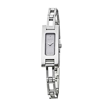 b79ce50fc697d6 Gucci 3900 L Stainless Steel YA039533 Ladies Watch  Amazon.co.uk  Watches
