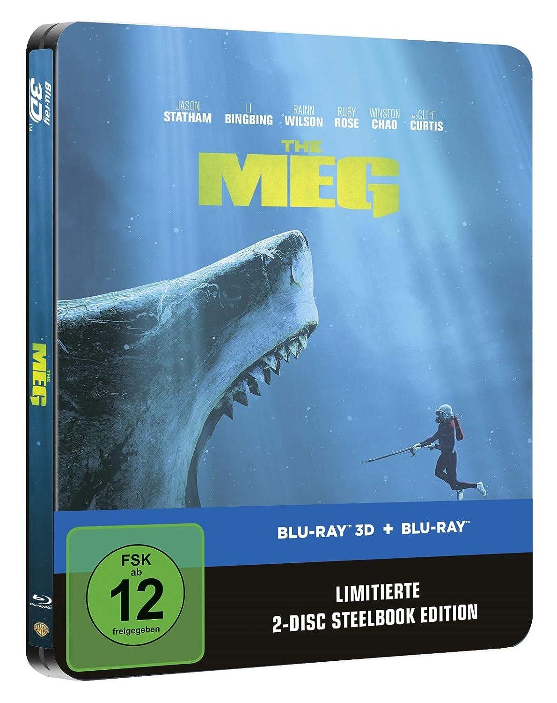 Meg 3D Steelbook (exklusiv bei Amazon.de) [Blu-ray]: Amazon.de: DVD ...