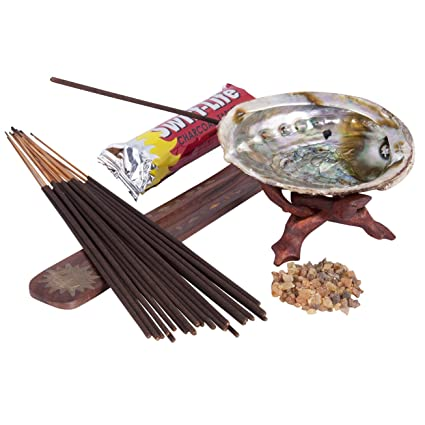 amazon com incense home energy cleansing kit nag champa and myrrh