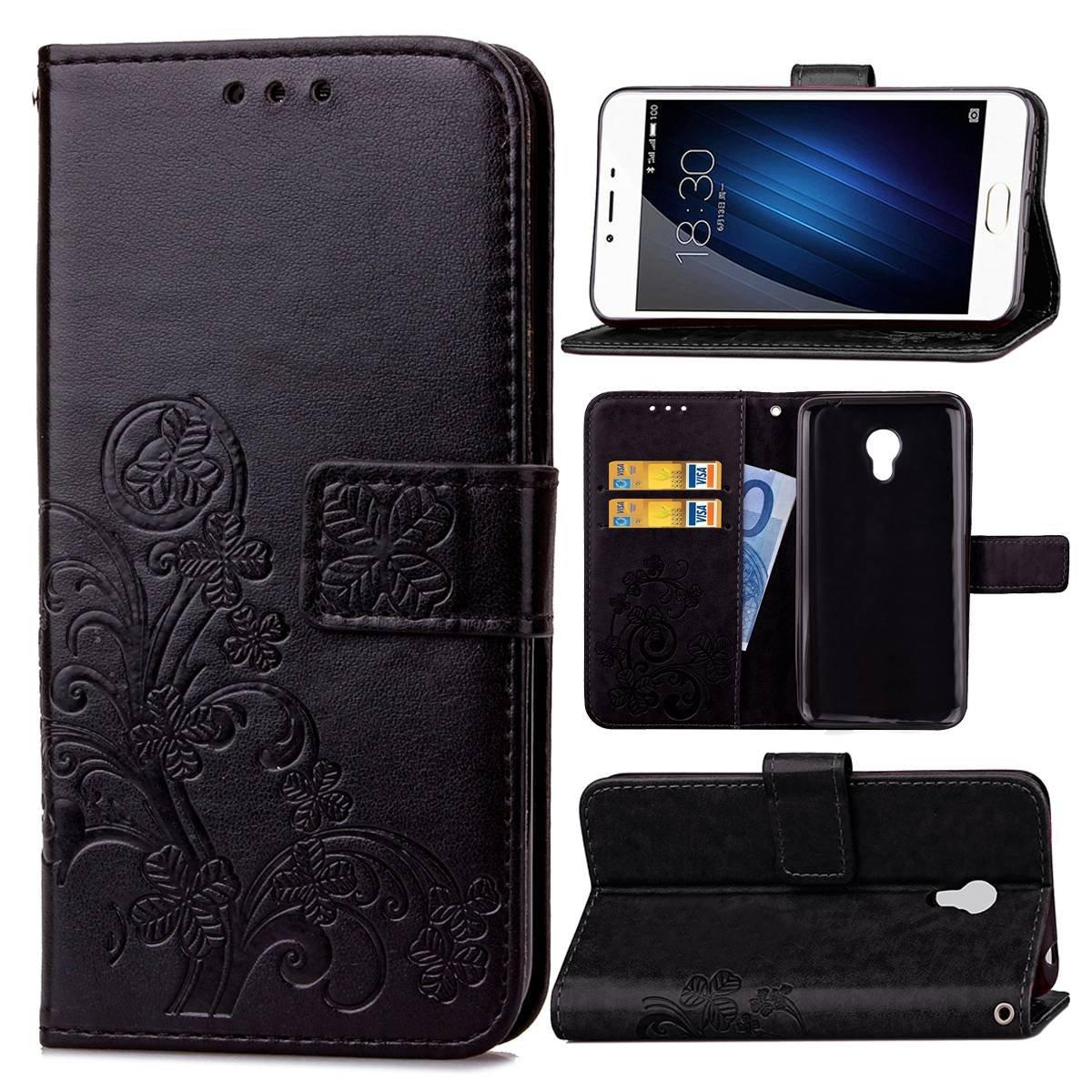 Guran Funda de Cuero PU para Meizu M3S Smartphone Función de ...