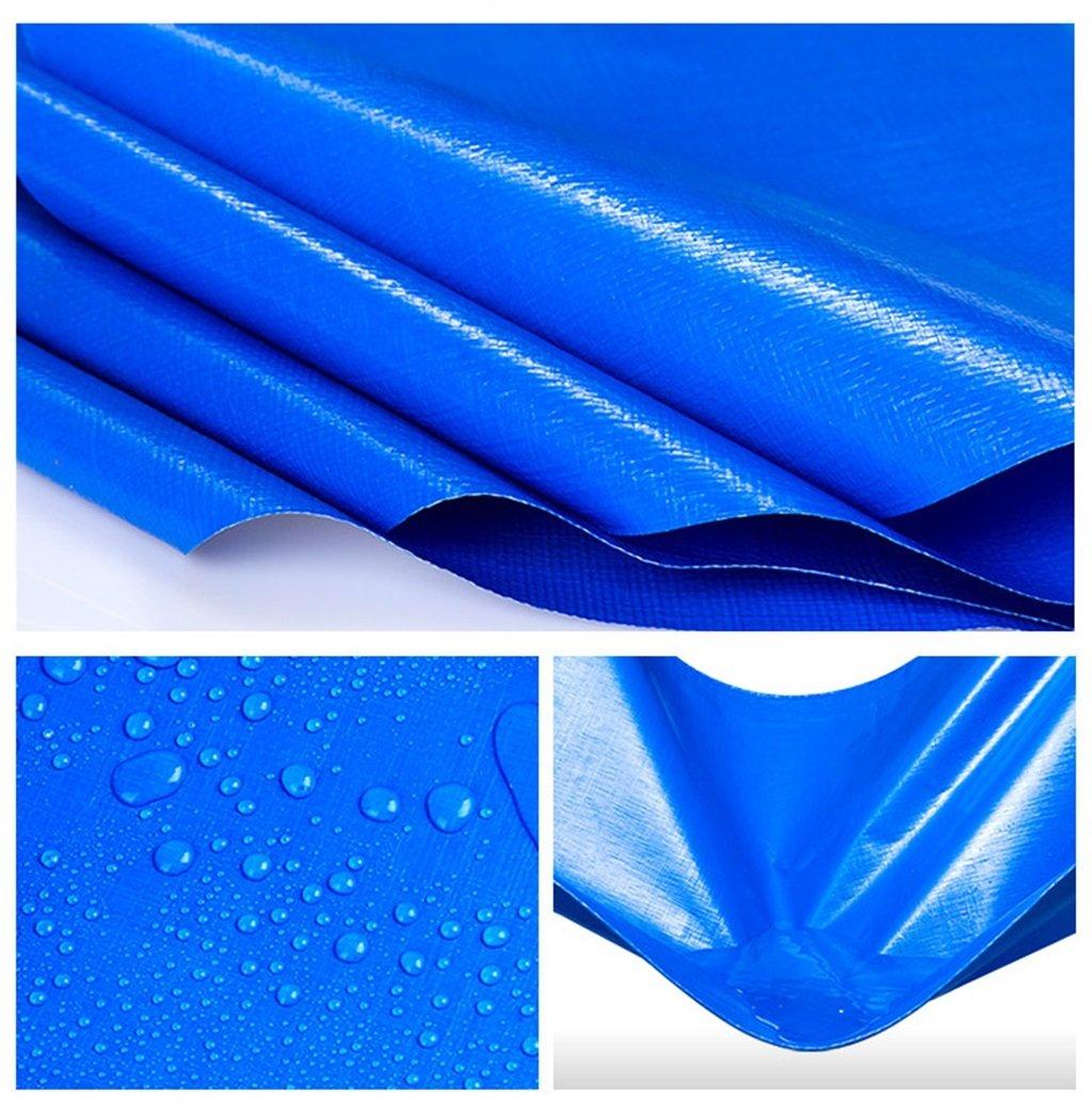 HQCC Panno Antipioggia in in in PE, telone Impermeabile per Esterno Solare Blu Spessa (Dimensioni   4mx6m) | I Materiali Superiori  | Buona qualità  35f705