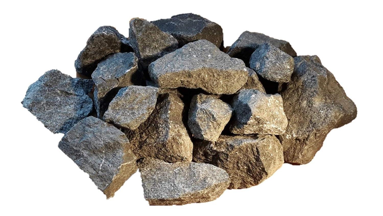 75 kg Pierres de basalte 5-8 cm pour sauna vapeur Der Naturstein Garten