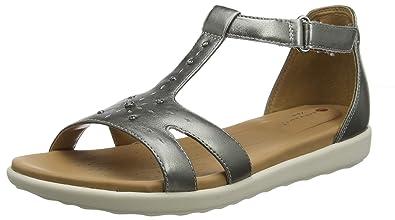 a086f3cb09c Clarks Women s Un Reisel Mara T-Bar Sandals  Amazon.co.uk  Shoes   Bags