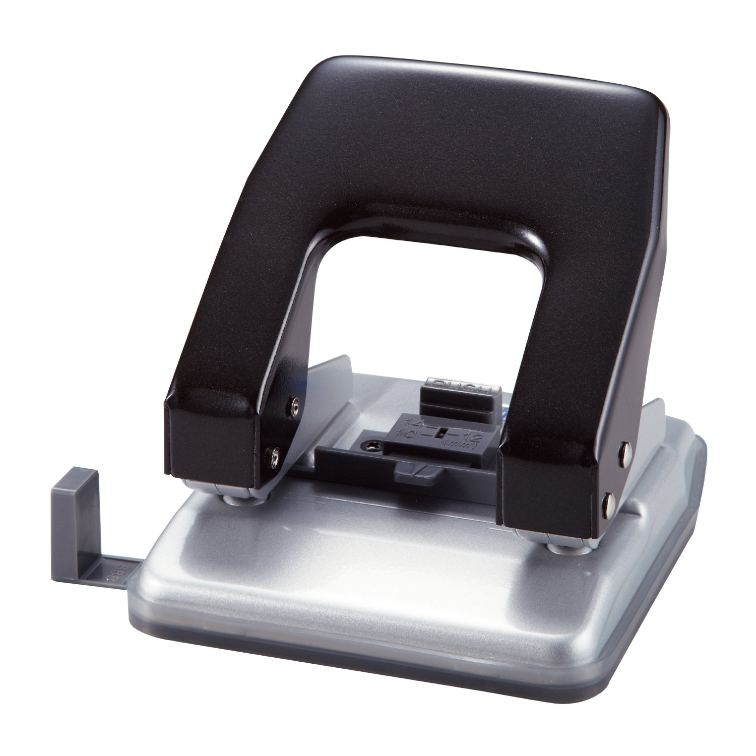 Open Industrial 2-hole punch black PU-20N-BK (japan import)