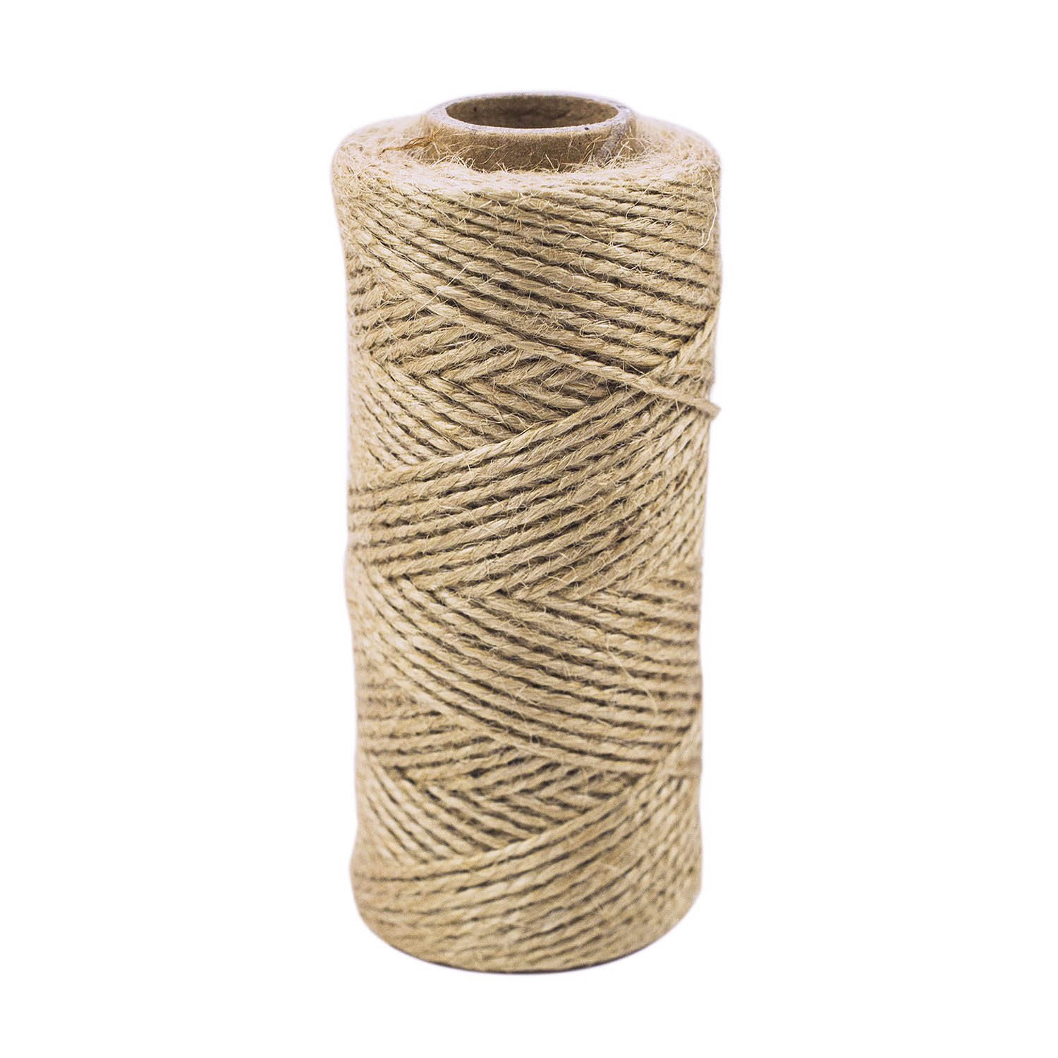 300 ft Heavy Duty Natural Color Twine Jute String for Industrial Packing Material Arts Crafts Gift Wrapping Garden Planting School Project Supplies