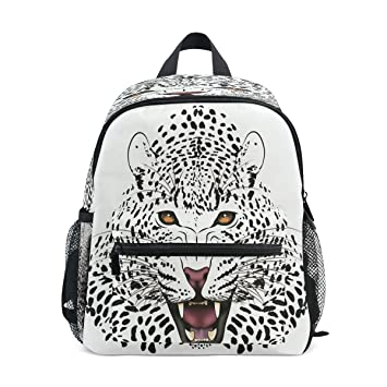 40c89f95dac Cute Boy Girl Schoolbag Kid Backpack Leopard Shoulders Bag for School  Student