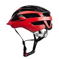 LIVALL riding Livall MT1 Casque de vélo Intelligent avec Clignotants sans-Fil, écouteurs Bluetooth et Micro intégré pour appels et Talkie-walkie, et Alerte SOS