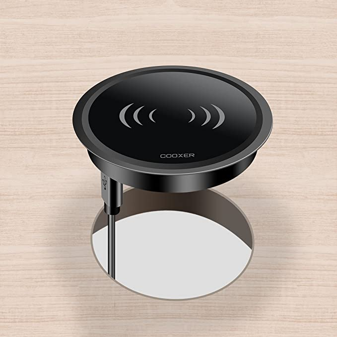 Desk Surface Port Hole fast wireless