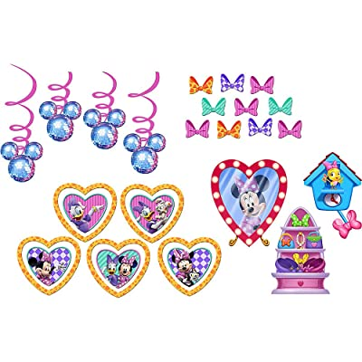Minnie's Bow-tique Decorating Kit Birthday Party Supplies: Toys & Games