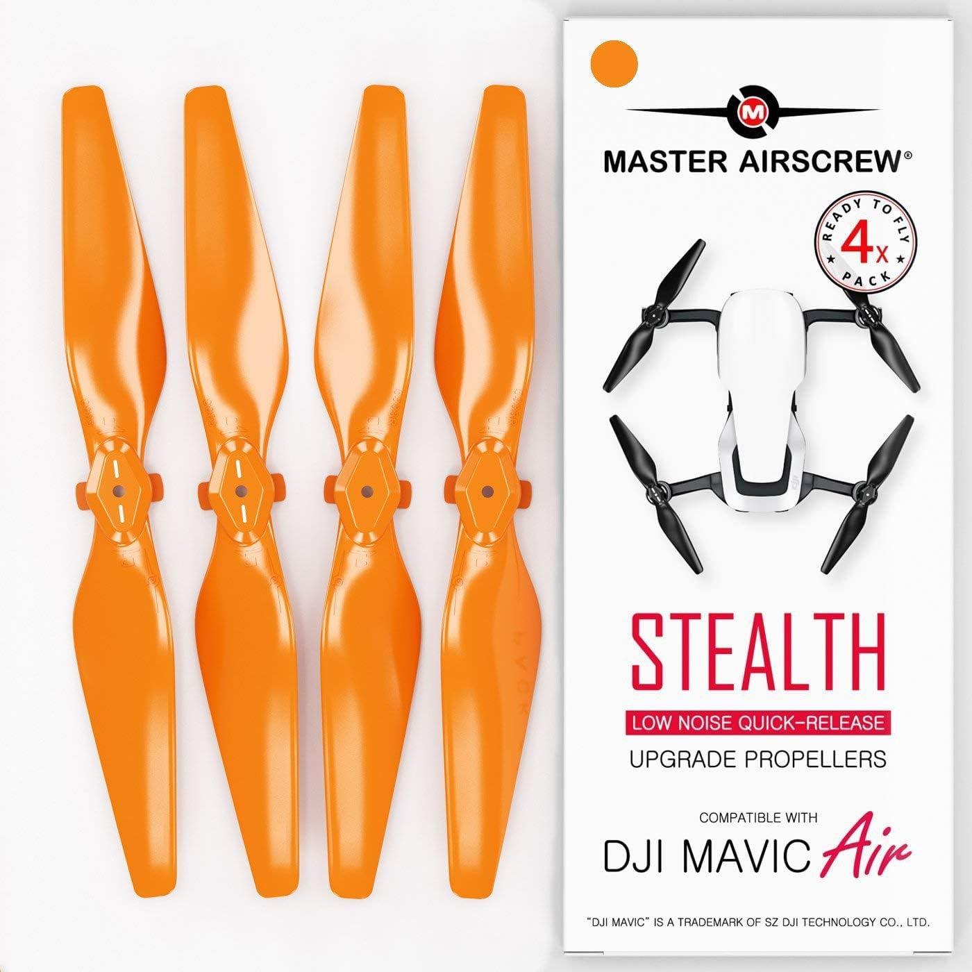 Helices Para DJI Mavic AIR (4 Pares) naranja