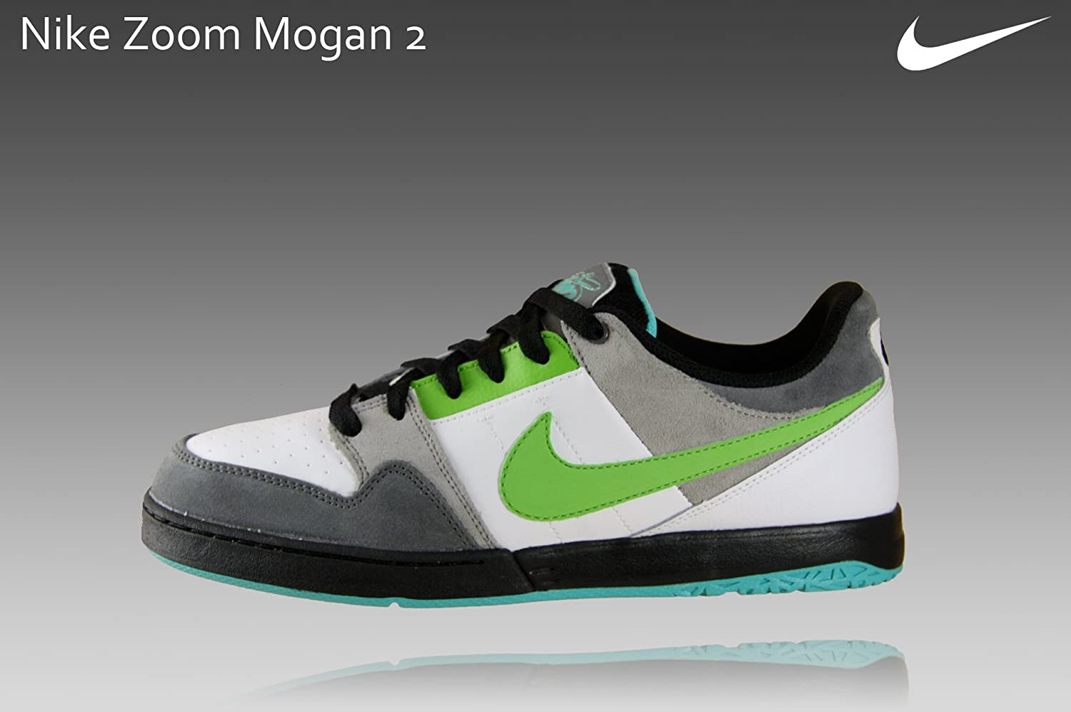 quality discount official images Nike 6.0 Zoom Mogan 2 Shoes - Nano Grey/Sprinter Green: Amazon.co ...