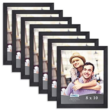Amazoncom Icona Bay 8x10 Picture Frame Pack 7 Pack Black 8 X