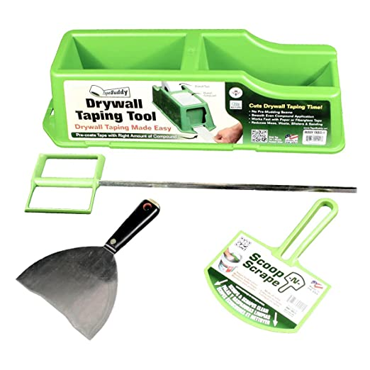 DIY Drywall Taping and Mixing Kit - All You Need to Tape Drywall Joints! - - Amazon.com