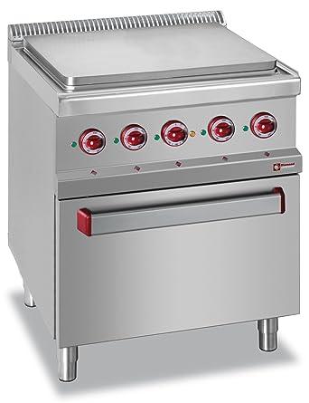 Modular eléctrica Bujía placa Cocina con horno GN 2/1 invitados ...
