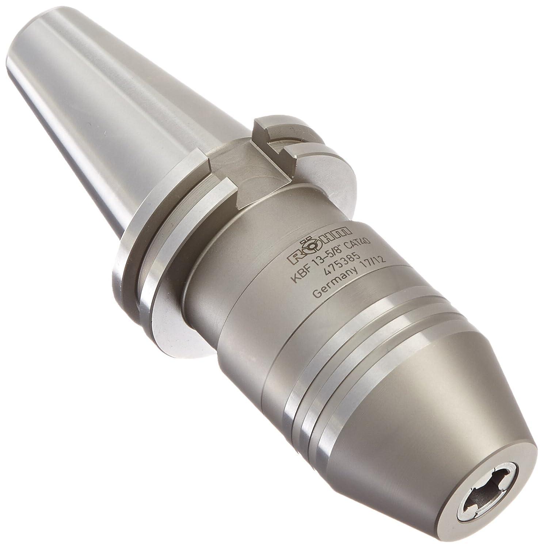 0.02mm Maximum TIR R/öhm 475385 KBF-13 CAT40 Precision Short Drill Chuck