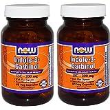 Indole-3-Carbinol (I3C) 200 mg - 60 Veg Capsules x 2 Bottles