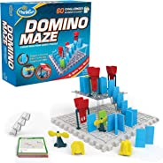 Think Fun 44001012 ThinkFun Domino Maze STEM Toy and Logic Game for Boys and Girls Age 8 and Up - Combines The Fun of Domino