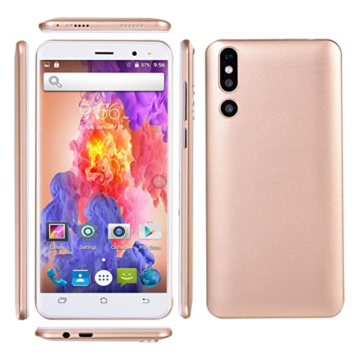 MONEBIPHOE Teléfono Inteligente 4G, Memoria 4G + 32G ...