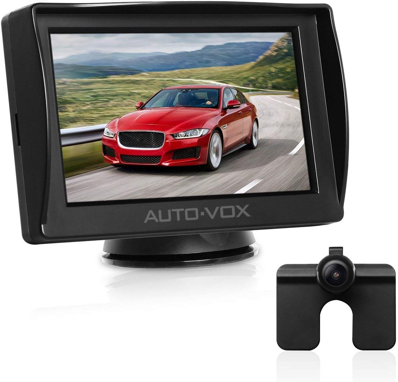 4.3 /'/' LCD Auto Rückfahrkamera Nummernschild Rückansichtkamera Mit