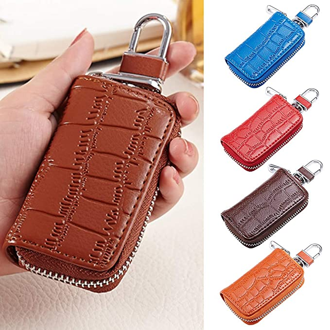 7268714ec115 YUSHHO56T Interior Decoration Key Holder Fashion Crocodile Embossed ...